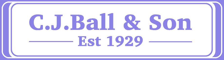 CJ Ball & Son Memorials transparent logo