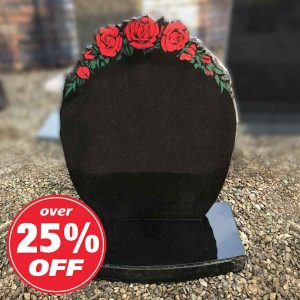 CJ Ball rose painted lawn memorial BV052 offer