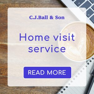 CJ Ball memorial home visit service