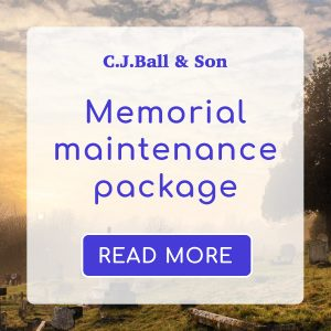 CJ Ball memorial maintenance service