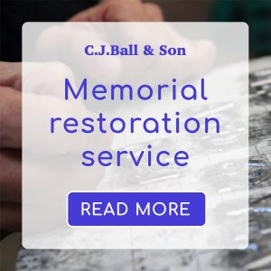 CJ Ball memorial restoration service