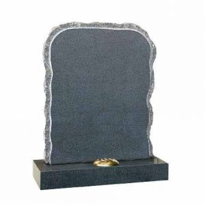 EC67-Dark-Grey-granite-rustic-shaped-with-rustic-shape-and-pitched-sides-cj-ball-memorials