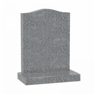 Light grey granite ogee CJ Ball memorial