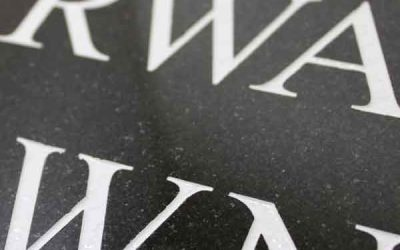 How To Choose A Headstone Inscription Font